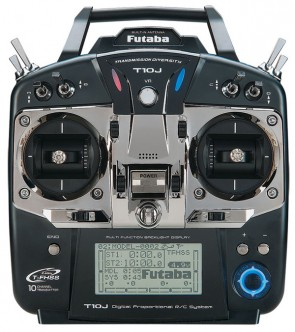 Futaba 10J R3008SB 2,4GHZ Telemetry mode 1 1110A