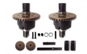 ASSEMBLED PRO DIFFERENTIAL SET W/METAL GEARS (2)