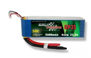 GP3500SG6S 22.2V 3500mAh 6Cell 50C