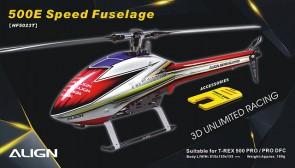HF5023 500E Speed Fuselage - Red