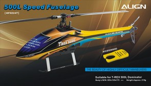 HF5024 500L Speed  Fuselage - Yellow & Blue