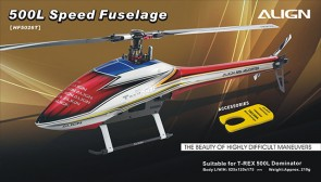 HF5026 500L Speed Fuselage - Red & White