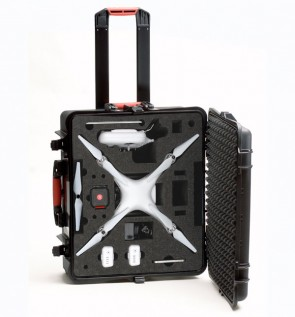 PROMO PRICE !!!!     Wheeled Hard Case for DJI Phantom 2 - DJI Phantom 3 Phantom 4