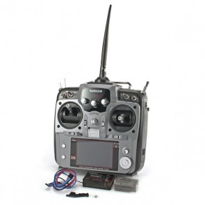 Radiolink AT10 II 10Ch transmitter GRAY with R12DS Receiver RADAT10II-GRAY