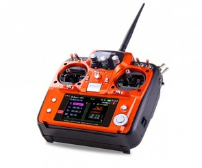 Radiolink AT10 II 10Ch transmitter ORANGE with R12DS Receiver RADAT10II-ORANGE