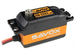 Savox SB-2263MG Brushless Low Profile SAXSB-2263MG