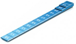 SK-600069-22 Chassis Ride Hight Gauge (1.0 to 4.0 mm) Blue