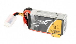 TA-45C-1550-3S1P TATTU 1550mAh 11.1V 45C 3S1P Lipo Battery Pack