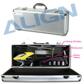 H25089 T-REX 250 Aluminum Case and Battery transport