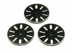 TXC-081-BK TREX 600/700 Push-Pull Servo Wheel Set - JR Black